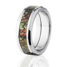 Stylish Obsession Mossy Oak Camo Rings, Mossy Oak Camouflage Rings