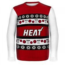 NBA Basketball MIAMI HEAT Ugly Sweater Christmas Pullover neu OVP