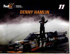 DENNY HAMLIN 2010 FEDEX #11 SPRINT CUP SERIES POSTCARD