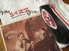 AL DI MEOLA Splendido Hotel Rare Sealed 2 LP SET W/ JAZZ FIX & ANALOG RULES TEE