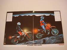 advertising Pubblicità 1983 MOTO HONDA XL 125/600