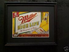MILLER HIGH LIFE   BEER SIGN  #18