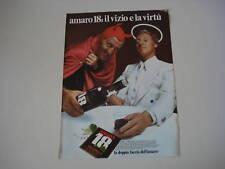 advertising Pubblicità 1974 AMARO ISOLABELLA