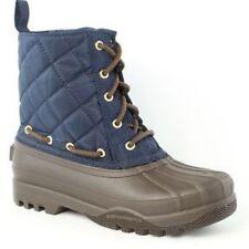 New Women's Paul Sperry Gosling Duck Waterproof Quilted Top Rubber Boots NIB