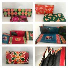 Leather Wallets Calcutta Fair Trade Genuine colourful hand purse ladies hand bag
