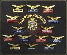 Spilla Distintivo di Specialità Aquila Guardie Giurate Vigilanza GPG IPS