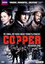 Copper: Season One DVD, 2012, 3-Disc Set, Includes Digital Copy BBC