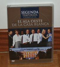 EL ALA OESTE DE LA CASA BLANCA - 2º TEMPORADA COMPLETA - NUEVO - 6 DVD - SERIES