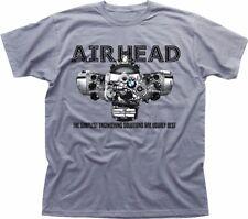 AIRHEAD Boxer engine R1200GS RT 1200 bmw Adventure R1200RT heather tshirt 9290