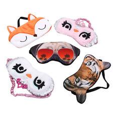 Cute Cartoon Animal Cotton Soft Eye Mask Cover Sleeping Eyepatch Travel Rest UK