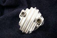 Fits 331 354 392 Hemi Engine Fuel Pump Finned Aluminum Ribbed Block Off Plate