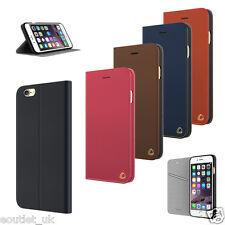 occa Folio Funda tipo cartera con tapa / para iPhone 8 Plus / 7 Piel Auténtica