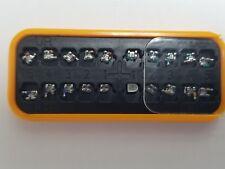 10 Cases (20 pcs) BRACKETS MINI ROTH or MBT 0.18 or 0.22 W/H 345 Mesh Base