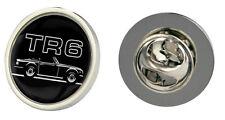 Triumph TR6 voiture logo clutch pin badge choix d'or/argent