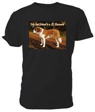 St Bernard Dog T shirt - Choice of size & colours!