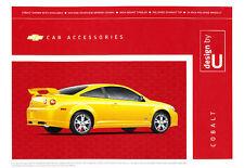 2008 2009 Chevrolet Cobalt Accessories Brochure Folder