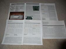 Marantz PM-94 Integrated Amplifier Review, 6 pg, 1994, Rare Info, Full Test