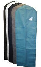 "4x Breathable Garment Dress Cover Long Bridal Wedding Dresses Storage Bag (72"")"