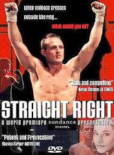Straight Right, Good DVD, Matt North, Lynn Evans, Zeke Rippy, Bob White (IX), Be