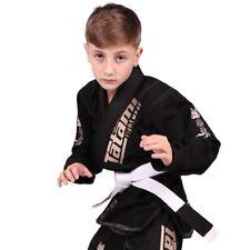 TATAMI Kids Brésilien Gi Meerkatsu Black Wolf le Jiu Jitsu costume uniforme enfant kimono