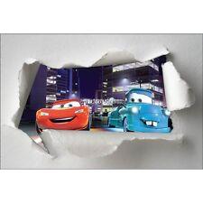 Stickers enfant papier déchiré Disney Cars réf 7592