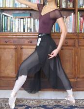 Quality lady girl women ballet dance extra long chiffon wrap skirt - New