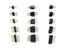 Micro Stiftleiste Steckverbinder RM 1.0 Auswahl 2/3/4/5/6 polig Stecker + Buchse