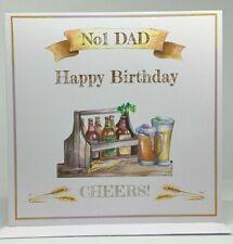 Happy Birthday, No1 Dad, No1 Grandad, No Uncle, Greeting Card for Dad, Grandad