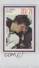1970-71 Esso Power Players #DASI Darryl Sittler Toronto Maple Leafs Hockey Card
