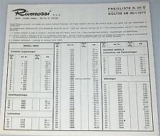 RIVAROSSI PRECIOS N 35 d 1970 å