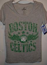 Womans  NBA Boston Celtics T-Shirt  Varous Sizes NWT