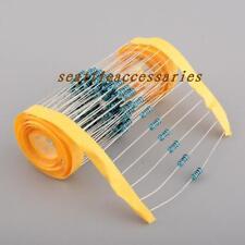 1000pcs 2W 2 Watt Metal Film Resistor  ±1% 1M 1K-910K ohm Ω