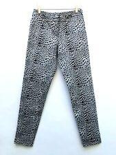TOPSHOP venta Leopardo Pantalones Longitud del tobillo Talla UK8 EUR36 US4
