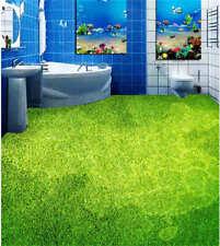 Green painting 3D Floor Mural Photo Flooring Wallpaper Home Print Decoration Kid