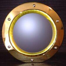 PORTHOLE FOR DOORS phi 350 mm GOLDEN color