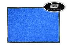 5 Größen Türmatte Fußmatte Fußabtreter Türvorleger CLEAN blau