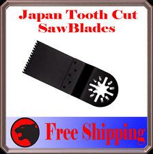 12 Japan Tooth Cut Oscillating MultiTool Saw Blades For Dremel Craftsman Fein