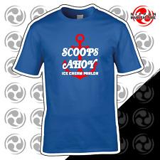 Scoops Ahoy Ice Cream T Shirt - Stranger Things T Shirt