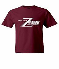 Mobile Suit Zeta Gundam Symbol Mens / Unisex Crew Neck Top Tee T-Shirt