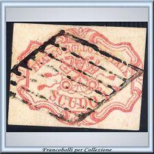 1852 Pontificio 1 scudo n. 11 Usato Certif. PROPOSTA
