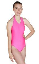 Lycra Leotard Sleeveless Halter Neck - Ballet Colours (#HAYLEY)