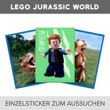Blue Ocean LEGO Jurassic World Einzelsticker 1-160 zum aussuchen