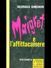 MAIGRET E L'AFFITTACAMERE  GEORGES  SIMENON MONDADORI 1961