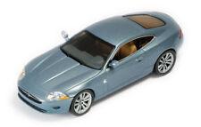 """Jaguar XK Coupé """"Blue Zircon"""" 2005 (IXO 1:43 / MOC079)"""