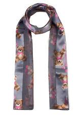 Teddy Bear Printed Scarf Cute Bears Fashion Scarf Christmas/ Birthday Gift scarf