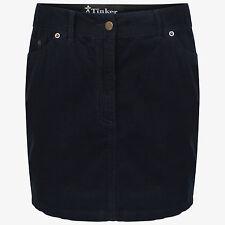 DeMIna Navy Corduroy Cord Mini Skirt 8-18