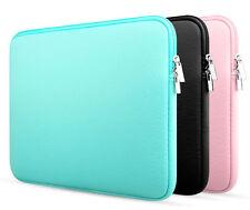 "11""12""13""14""15""15.6"" Neoprene Laptop Sleeve Bag PC Soft Case For Macbook Asus HP"