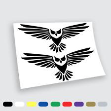 Adesivi Murali Adesivo in vinile gufi owl art Wall Stickers da parete auto