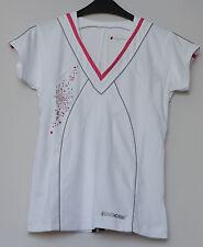 SUPERSALE: Babolat Performance Damen Polo Shirt weiß, Top Qualität