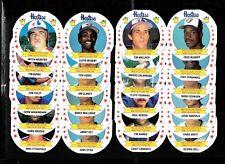 1988 HOSTESS MONTREAL EXPOS TORONTO BLUE JAYS MLB BASEBALL PANEL CARD SEE LIST